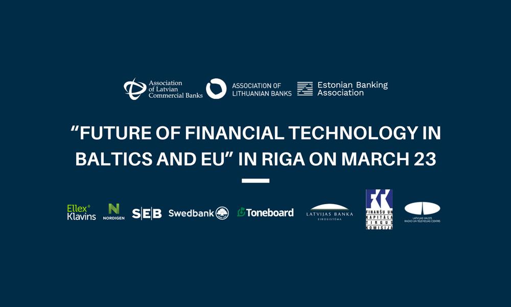 """Aicinām tiešraidē vērot konferenci """"Finanšu tehnoloģiju nākotne Baltijā un ES"""""""