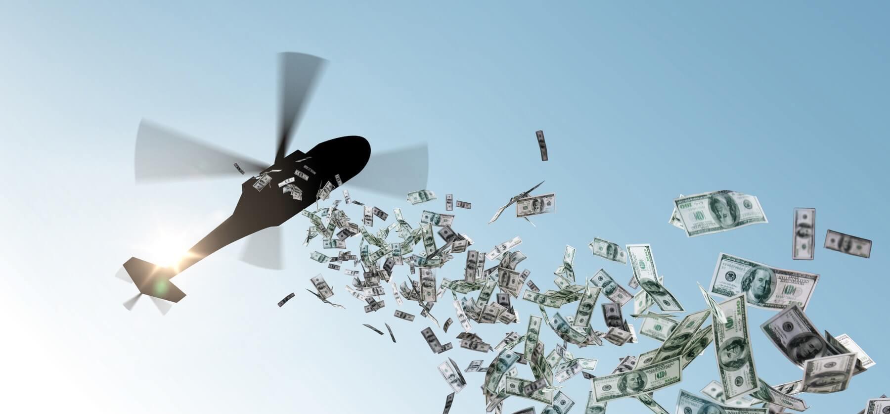 Vai šogad sagaidīsim naudu no debesīm?