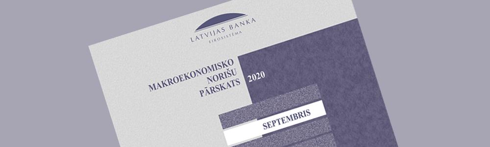 Makroekonomisko Norišu Pārskats. 2020. gada septembris