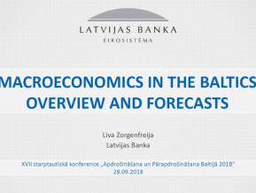 Prezentācija: Baltijas valstu ekonomika