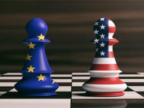 Eiro zonas ekonomikas izaugsme padodas tirdzniecības kariem